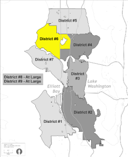 Map of District